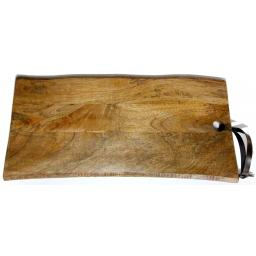 MasterClass Gourmet Prep & Serve Large Natural Mango Plank/Serving Board